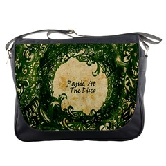 Panic At The Disco Messenger Bags by Onesevenart