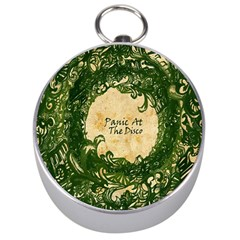 Panic At The Disco Silver Compasses by Onesevenart