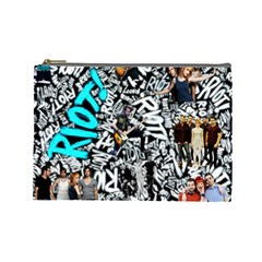 Panic! At The Disco College Cosmetic Bag (large)  by Onesevenart