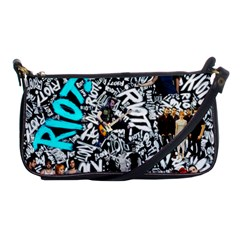 Panic! At The Disco College Shoulder Clutch Bags by Onesevenart