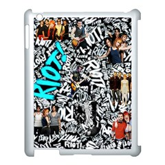 Panic! At The Disco College Apple Ipad 3/4 Case (white) by Onesevenart
