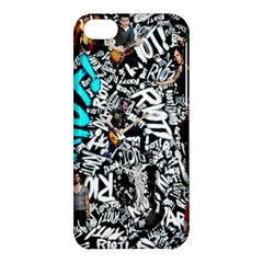 Panic! At The Disco College Apple Iphone 5c Hardshell Case by Onesevenart