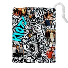 Panic! At The Disco College Drawstring Pouches (xxl) by Onesevenart