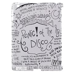 Panic! At The Disco Lyrics Apple Ipad 3/4 Hardshell Case (compatible With Smart Cover) by Onesevenart