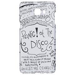 Panic! At The Disco Lyrics Samsung C9 Pro Hardshell Case  by Onesevenart