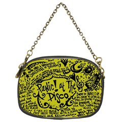 Panic! At The Disco Lyric Quotes Chain Purses (one Side)  by Onesevenart
