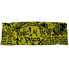 Panic! At The Disco Lyric Quotes Body Pillow Case Dakimakura (two Sides) by Onesevenart