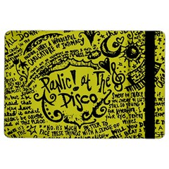 Panic! At The Disco Lyric Quotes Ipad Air 2 Flip by Onesevenart