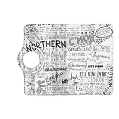 Panic At The Disco Lyrics Kindle Fire Hd (2013) Flip 360 Case by Onesevenart