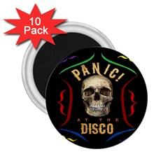 Panic At The Disco Poster 2 25  Magnets (10 Pack)  by Onesevenart