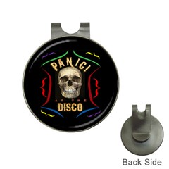 Panic At The Disco Poster Hat Clips With Golf Markers by Onesevenart