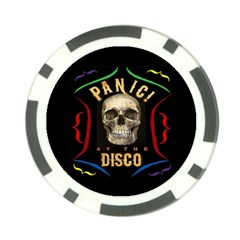 Panic At The Disco Poster Poker Chip Card Guard (10 Pack) by Onesevenart