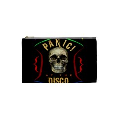 Panic At The Disco Poster Cosmetic Bag (small)  by Onesevenart