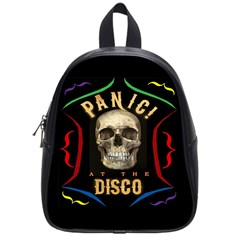 Panic At The Disco Poster School Bag (small) by Onesevenart