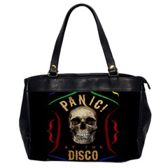 Panic At The Disco Poster Office Handbags by Onesevenart