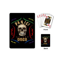 Panic At The Disco Poster Playing Cards (mini)  by Onesevenart