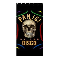 Panic At The Disco Poster Shower Curtain 36  X 72  (stall)  by Onesevenart