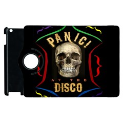Panic At The Disco Poster Apple Ipad 3/4 Flip 360 Case by Onesevenart