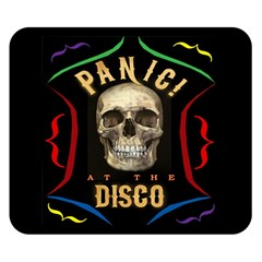Panic At The Disco Poster Double Sided Flano Blanket (small)  by Onesevenart