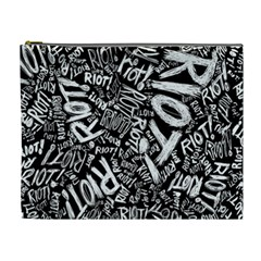 Panic At The Disco Lyric Quotes Retina Ready Cosmetic Bag (xl) by Onesevenart