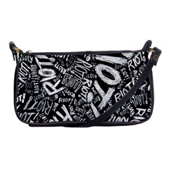 Panic At The Disco Lyric Quotes Retina Ready Shoulder Clutch Bags by Onesevenart