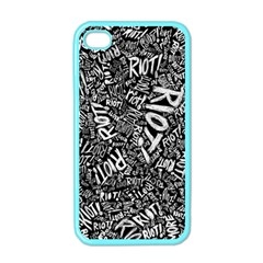 Panic At The Disco Lyric Quotes Retina Ready Apple Iphone 4 Case (color) by Onesevenart