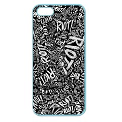 Panic At The Disco Lyric Quotes Retina Ready Apple Seamless Iphone 5 Case (color) by Onesevenart
