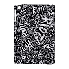 Panic At The Disco Lyric Quotes Retina Ready Apple Ipad Mini Hardshell Case (compatible With Smart Cover) by Onesevenart