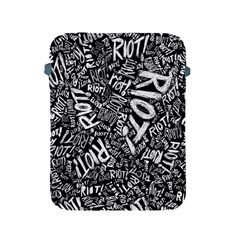 Panic At The Disco Lyric Quotes Retina Ready Apple Ipad 2/3/4 Protective Soft Cases by Onesevenart