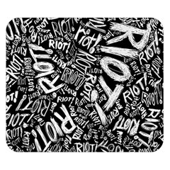 Panic At The Disco Lyric Quotes Retina Ready Double Sided Flano Blanket (small)  by Onesevenart
