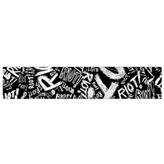 Panic At The Disco Lyric Quotes Retina Ready Flano Scarf (small) by Onesevenart