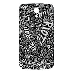 Panic At The Disco Lyric Quotes Retina Ready Samsung Galaxy Mega I9200 Hardshell Back Case by Onesevenart