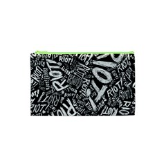 Panic At The Disco Lyric Quotes Retina Ready Cosmetic Bag (xs) by Onesevenart