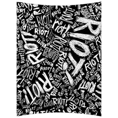 Panic At The Disco Lyric Quotes Retina Ready Back Support Cushion by Onesevenart