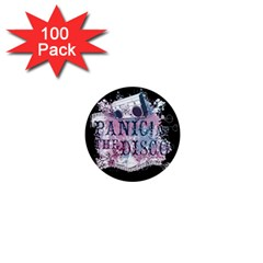 Panic At The Disco Art 1  Mini Magnets (100 Pack)  by Onesevenart