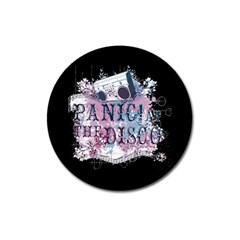Panic At The Disco Art Magnet 3  (round) by Onesevenart