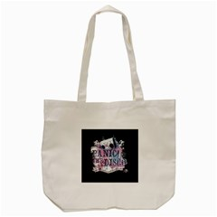 Panic At The Disco Art Tote Bag (cream) by Onesevenart