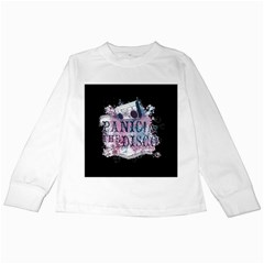 Panic At The Disco Art Kids Long Sleeve T Shirts by Onesevenart