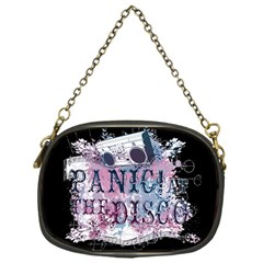 Panic At The Disco Art Chain Purses (one Side)  by Onesevenart