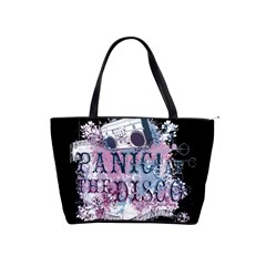 Panic At The Disco Art Shoulder Handbags by Onesevenart