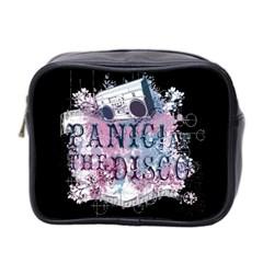 Panic At The Disco Art Mini Toiletries Bag 2 Side by Onesevenart