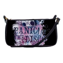 Panic At The Disco Art Shoulder Clutch Bags by Onesevenart