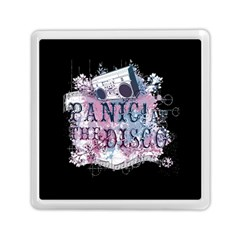 Panic At The Disco Art Memory Card Reader (square)  by Onesevenart