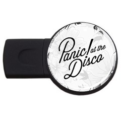 Panic At The Disco Flowers Usb Flash Drive Round (2 Gb) by Onesevenart