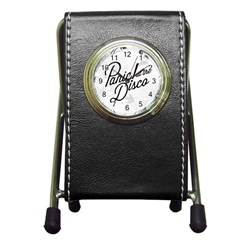 Panic At The Disco Flowers Pen Holder Desk Clocks by Onesevenart