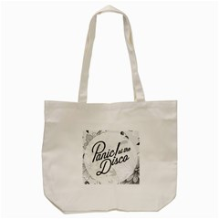 Panic At The Disco Flowers Tote Bag (cream) by Onesevenart
