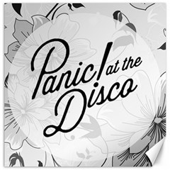 Panic At The Disco Flowers Canvas 12  X 12   by Onesevenart