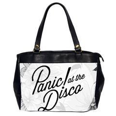 Panic At The Disco Flowers Office Handbags (2 Sides)  by Onesevenart