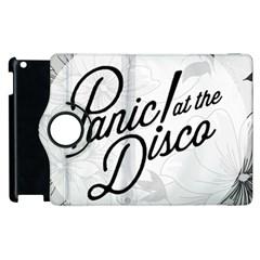 Panic At The Disco Flowers Apple Ipad 2 Flip 360 Case by Onesevenart