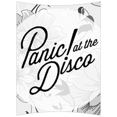 Panic At The Disco Flowers Back Support Cushion by Onesevenart